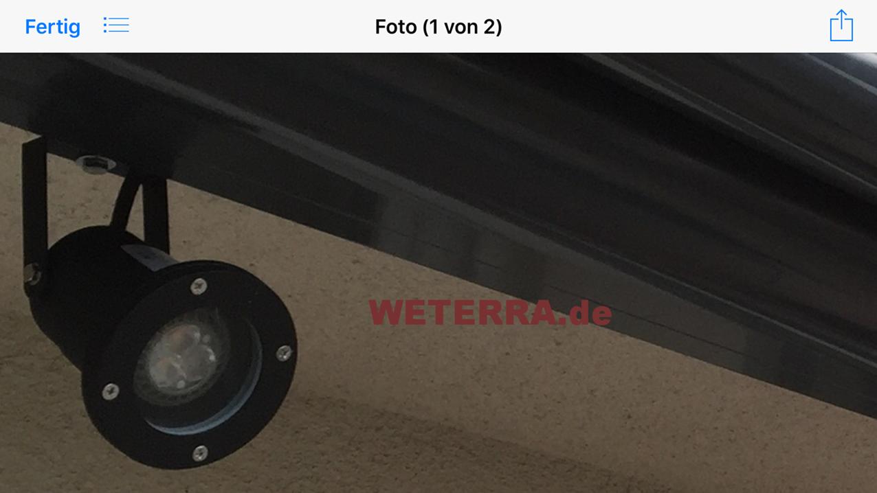 LED-Beleuchtung & Zubehör - Weterra Terrassendächer