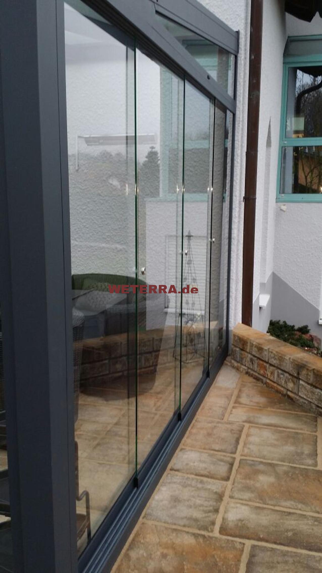 Sommergarten Vsg Glas Eindeckung Aschaffenburg Weterra
