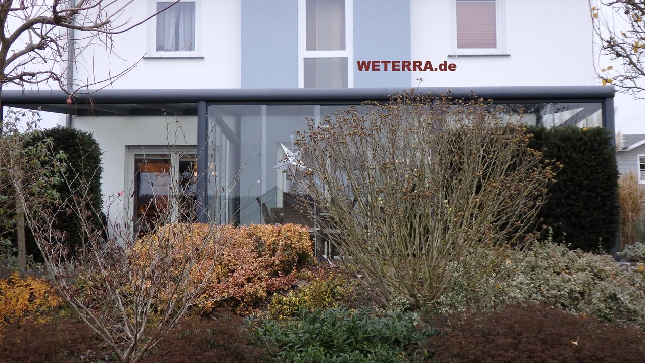 Sommergarten Polykarbonat Eindeckung Darmstadt Weterra
