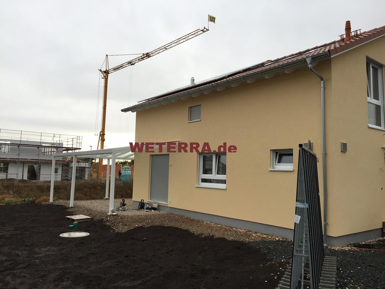 Holz TerrassenUberdachung Fulda ~ Terrassenüberdachung Mit Faltdach Sintesi Autoportante Frama Acti