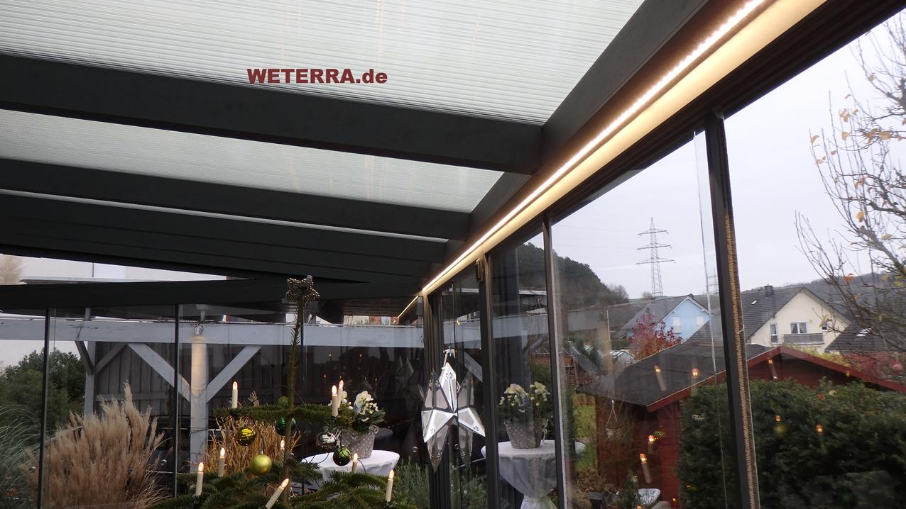 Led Beleuchtung Zubehor Weterra Terrassendacher